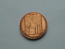 HEIST Op Den BERG ( Die Swaene ) 100 - 1982 ( Bronskleur - Details, Zie Foto ) ! - Fichas De Municipios