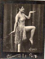 TABAC 2 : Cigarettes Le Nil : Corcy Seins Nues ( Nue Nu ) - Tabac (objets Liés)