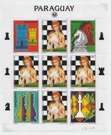Paraguay 1984; Chess Ajedrez; S/s - Paraguay