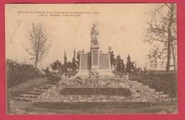 Givry (Pensionnat St.-Joseph ) - Monument érigé Aux Victimes De La Guerre... Mai 1922 ( Voir Verso ) - Quévy