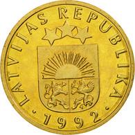 Monnaie, Latvia, 10 Santimu, 1992, SUP, Nickel-brass, KM:17 - Lettonie