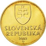 Monnaie, Slovaquie, Koruna, 2002, SPL, Bronze Plated Steel, KM:12 - Slovaquie