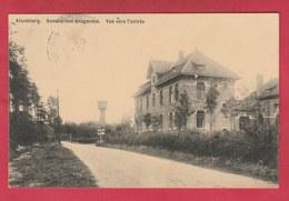 Alsemberg - Sanatorium Brugmann - Vue Vers L'entrée - 1912 ( Verso Zien ) - Beersel