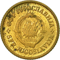 Monnaie, Yougoslavie, 5 Para, 1980, TTB, Laiton, KM:43 - Yougoslavie
