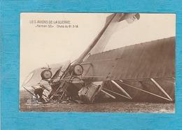 Les Avions De La Guerre '' Farman 50 '' Chute Du 21-3-18 - Airplanes
