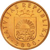 Monnaie, Latvia, 2 Santimi, 2000, SUP, Copper Clad Steel, KM:21 - Lettonie