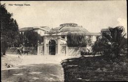 Cp Pisa Toscana, Politeama Pisano, Vista Esterna, Strada, Carrozza Trainata Da Cavalli - Autres
