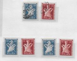Poland 1956; Chess Ajedrez;  Nice Combination - 1944-.... Republic