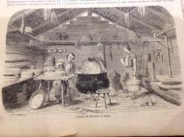 1863 FABRICATION DU FROMAGE EN SUISSE - SAINT LOUIS SÉNÉGAL - LA MOISSON - FAIDHERBE Et OUDINOT - FAUCHEURS POLONAIS - 1850 - 1899