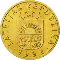 Monnaie, Latvia, 5 Santimi, 1992, SUP, Nickel-brass, KM:16 - Lettonie