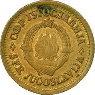 Monnaie, Yougoslavie, 5 Para, 1965, TB+, Laiton, KM:42 - Yougoslavie