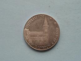 PIJPELHEIDE O.L.Vrouw & St. Jozef ( 100 Pijpelingen ) 1981 ( Zilverkleur - Details, Zie Foto ) ! - Tokens Of Communes