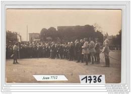 7228 AK/PC/CARTE PHOTO/1736/INAUGURATION A IDENTIFIER/ - Cartoline