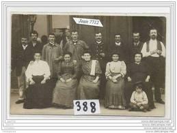 3671 AK/PC/CARTE PHOTO/N°388/CAFE A IDENTIFIER - Cartoline