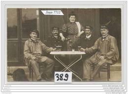 3672 AK/PC/CARTE PHOTO/N°389/CAFE A IDENTIFIER - Cartoline