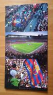 Barcelona Barcellona Nou Camp Stadium Cartolina Stadio Postcard Stadion AK Carte Postale Stade Estadio - Calcio