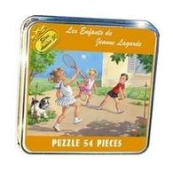 Belle Boite Métal Les Enfants De Jeanne Lagarde Contenant Un Puzzle De 54 Pièces Sous Blister - Puzzles