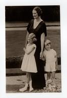 - CPA S. M. LA REINE ASTRID Et Sa Famille - Edition Axel Eliassons 177 - - Familles Royales