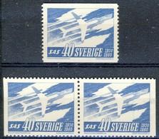 +B1518. Sweden 1961. NORDEN. SAS. Michel 467. MH(*) - Zweden