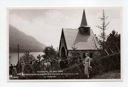 - CPA S. M. LA REINE ASTRID - Bénédiction De La Chapelle - Edition G. Cailliau - - Familles Royales