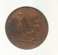 Médaille  , Régie Des MONNAIES , Loi Du 13 Juillet 1879, Diam : 3.5 Cm , 18 Gr , 2 Scans, Frais Fr 2.70 E - Professionnels / De Société