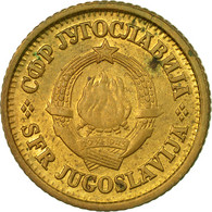 Monnaie, Yougoslavie, 5 Para, 1980, TB+, Laiton, KM:43 - Yougoslavie
