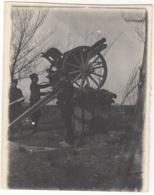 Canon De 75 Pointé Vers Le Haut. Non Située Ni Datée (France ? Belgique ?). Dimension +/- 9 X 11 Cm - War, Military