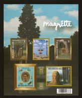 BELGIE BLOCK MAGRITTE POSTFRIS IMPERFORATED  NEUF MNH ** VF - Blocs 1962-....