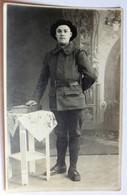 Belle Carte Photo 22 BCA Bataillon Chasseurs Alpins Portrait Soldat - Régiments