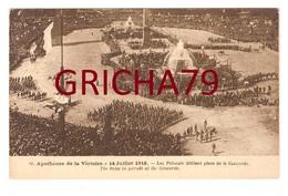 GUERRE 14-18 APOTHEOSE DE LA VICTOIRE 14/07/1919 - LES POLONAIS DEFILENT PLACE DE LA CONCORDE - Guerre 1914-18