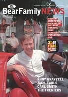 BEAR FAMILY NEWS - Avril 2010 - Buck OWENS - Rudy GRAYZELL - Jack EARLS - Carl SMITH - Johnny HORTON - The TRENIERS - Divertissement