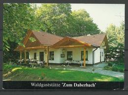 Deutschland Waldgaststätte Zum Daberbach Wittstock Dosse Gesendet 1993 Mit Briefmarke - Wittstock