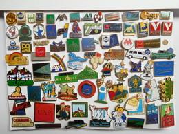 Beau Lot De + De 70 Pin's Différents Sur Les Assurances , Mutuelle , UAP , AXA , GAN , AGF , MACIF , Etc... - Vereinswesen