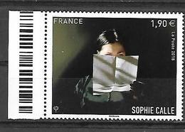 France 2018 - Yv N° 5272 ** - Sophie Calle - France