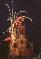72 - MAYET - Feu D'artifice Devant L'Eglise - Mayet