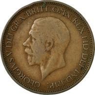 Monnaie, Grande-Bretagne, George V, 1/2 Penny, 1934, TB+, Bronze, KM:837 - 1902-1971 : Monnaies Post-Victoriennes
