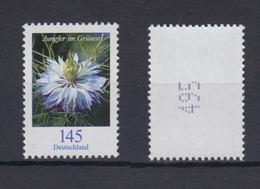 Bund 3351 Rollenmarke Ungerade Nr.  Blumen Jungfer Im Grünen 145 Cent Postfrisch - [7] République Fédérale
