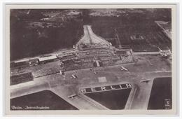 AK Dt.-Reich (003221) Berlin, Zentralflughafen Gelaufen Berlin Zentralflughafen Am 11.7.1939 - Tempelhof