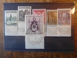 Luxembourg 1947 Série 6 Timbres Echternach Oblitération Pentecote - Oblitérés