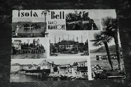 3731   ISOLA BELLA, LAGO MAGGIORE - 1955 - Altre Città
