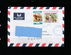 Z3] Enveloppe Circulée Circulated Cover Burundi Rotary Santé Health Polio IMPRESSOR - Rotary, Lions Club