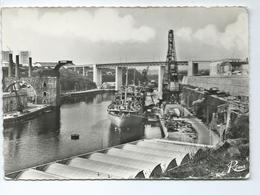 Brest Le Pont De L' Harteloire 1049 Editions Rema Navire Bateau - Brest