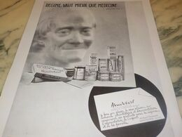 ANCIENNE PUBLICITE REGIME VAUT MIEUX  HEUDEBERT 1932 - Posters