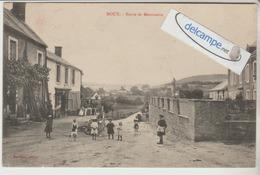MOUX : Route De Menessaire,animée. édit Marillier. - France