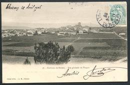 Environs De Béziers - Vue Générale De Thézan - N°38 Cliché Affre A.M. éditeur - Voir 2 Scans - Other Municipalities