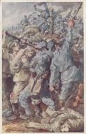 AK  - WK I - Rotes Kreuz Karte  373 - Sign. Marussig - Rotes Kreuz
