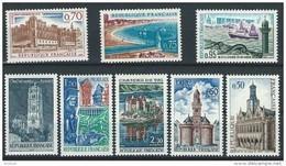 """FR YT 1499 à 1506 """" Monuments Et Sites """" 1966 Neuf** - France"""