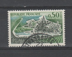 FRANCE / 1961 / Y&T N° 1314 : Cognac - Choisi - Cachet Rond - France