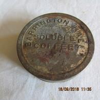 WW1 US Barrington Soluable Coffee Tin - 1914-18