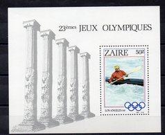 ZAIRE  Timbre Neuf ** De 1984  ( Ref 5764 ) Sport - JO  -Canoé Kayak - Zaïre